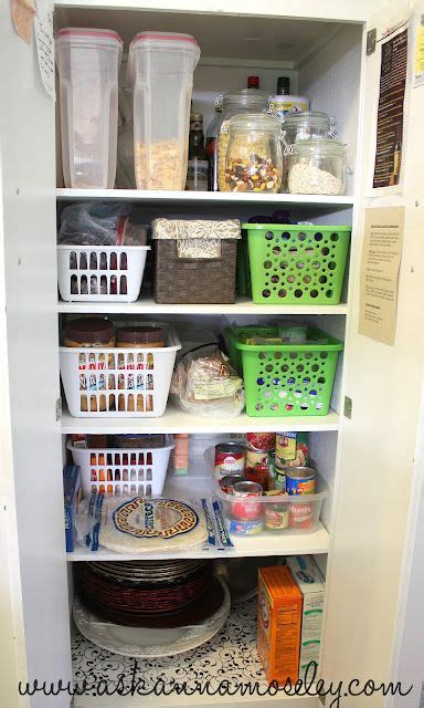 How To Organize Food In Kitchen Cabinets 17 Best Ideas About Pantry Organization On Closet Pantry Shelving Pantry