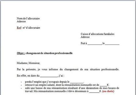 Exemple De Lettre Familiale T 233 L 233 Charger Mod 232 Le De Lettre Changement De Situation Caf Gratuit Le Logiciel Gratuit