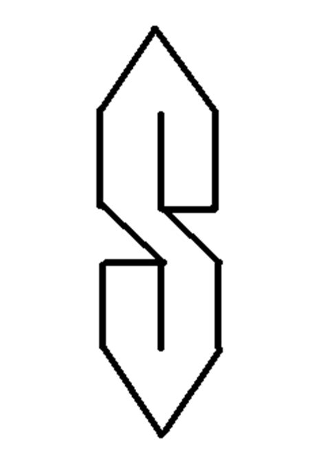 S Drawing Thing by Local Investigates The Mysterious S Symbol Nyu Local