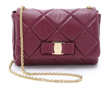 Salvatore Ferragamo Sella Quilted Tote by Color Story 20 Beautiful Burgundy Bags For Fall Purseblog