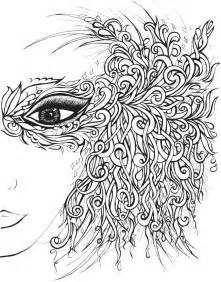 coloring book pages for adults art and abstract