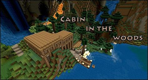 Minecraft Cabin In The Woods by Cabin In The Woods Minecraft Project