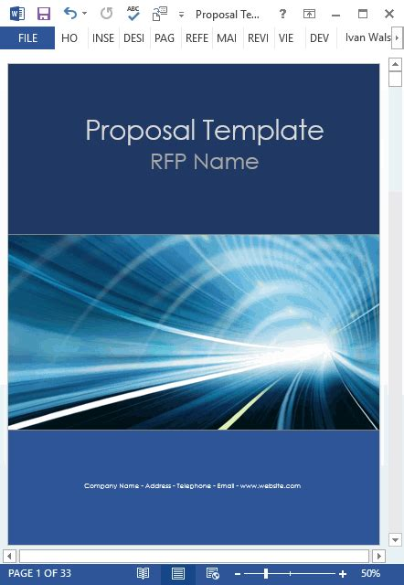 proposal templates   ms word designs   excel