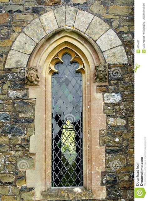 Arched Church Windows Inspiration Arched Church Window Stock Image Image Of Blocks 4670067