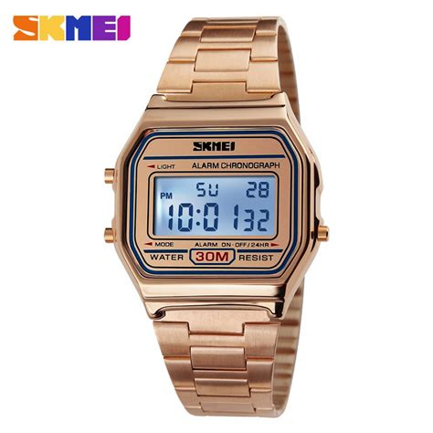 New Jam Tangan Pria Sporty Original Skmei Casio Led Sporty Anti Air G jual jam tangan pria skmei digital casual stainless
