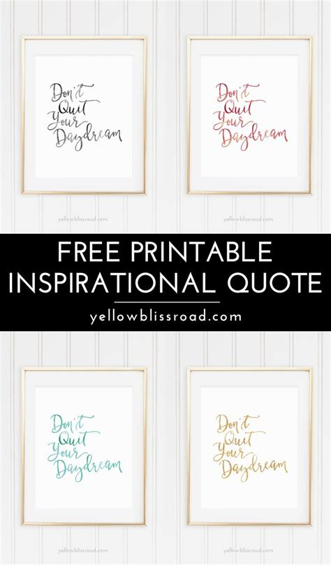 free printable motivational wall art 195 best free printable wall art quotes and sayings