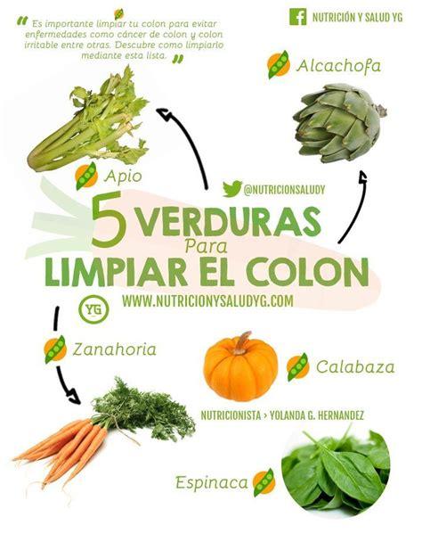 Irritable Bowel Detox Diet by 5 Verduras Para Limpiar Tu Colon Salud Medicine And