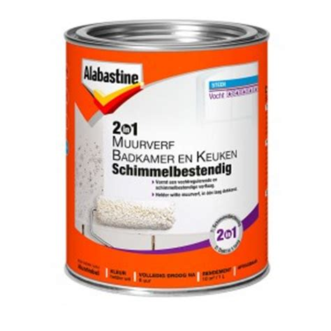 anti schimmel coating badkamer 2in1 muurverf badkamer en keuken schimmelbestendig