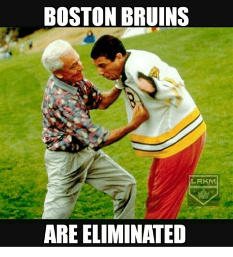 Bruins Memes - boston bruins lakm are eliminated meme on sizzle