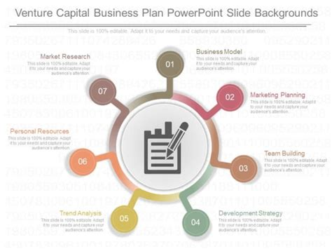 venture capital business plan powerpoint slide backgrounds