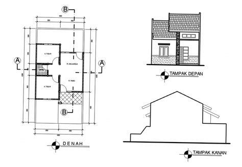 desain dan denah rumah sederhana dengan biaya murah ndik home