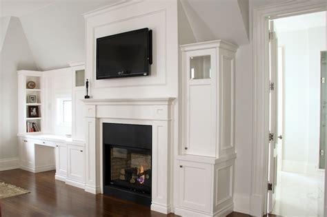 Built In Tv Cabinet Fireplace by Tv Fireplace Design Ideas