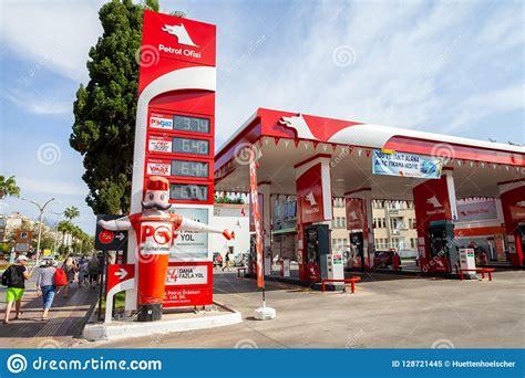 petrol ofisi gasoline station editorial image image