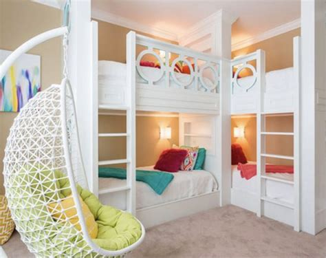quadruple bunk bed 201 fun kids bedroom design ideas for 2018