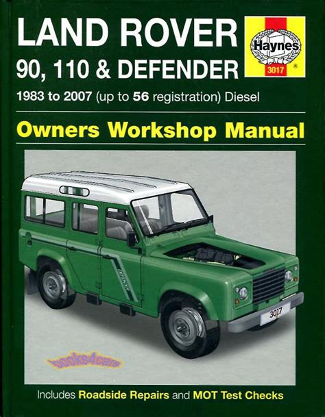 service and repair manuals 2010 land rover defender ice edition engine control land rover shop manual service repair book defender 90 110 haynes book chilton ebay