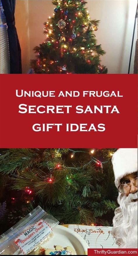 cheap but creative secret santa gift ideas ideas