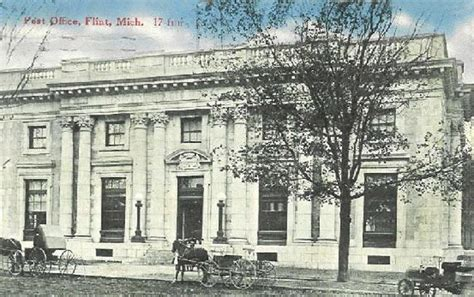 Flint Post Office by Images Of Michigan Post Offices