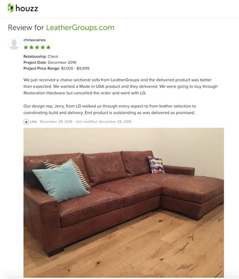 customer review chris braxton sofa chaise sectional
