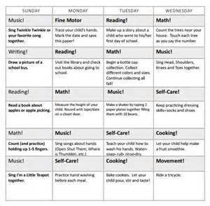 Preschool Calendar Templates by Preschool Calendar 9 Free Sles Exles Format
