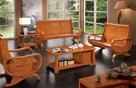 excellent wood living room furniture examples