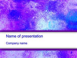 download free violet glass powerpoint template for