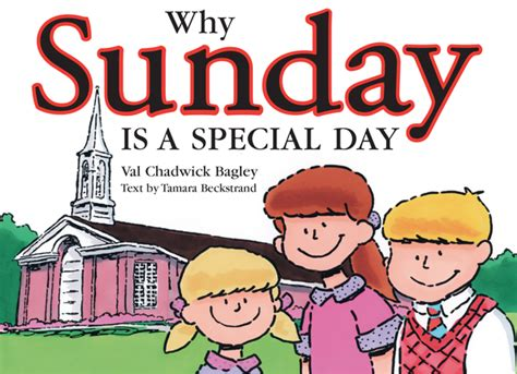 why sunday is a special day deseret book
