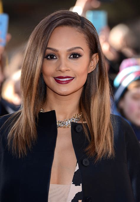 Alesha Dixon   30 Celebrities Who Prove That Long Hair Isn