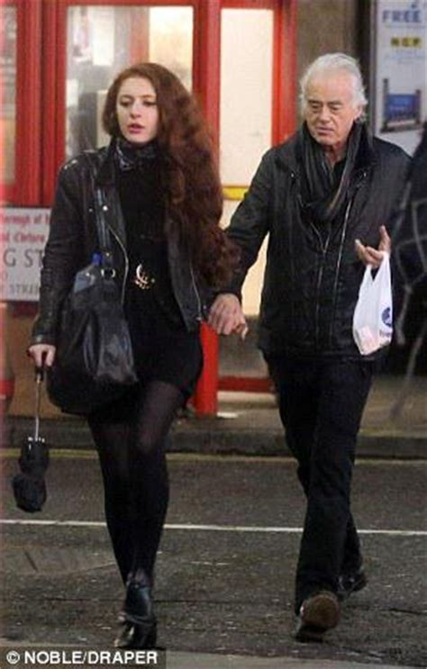 Led Zeppelin S Jimmy Page 71 Dating 25 Year Old The