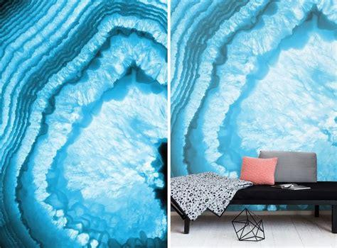 geode pattern home design  accent walls