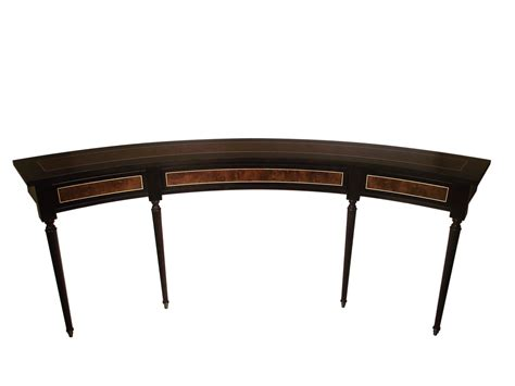 curved sofa table curved sofa table new clive christian collection