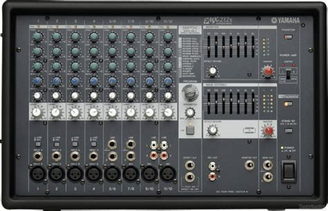 Power Mixer Yamaha 6 Chanel p a system audio mixer rentals