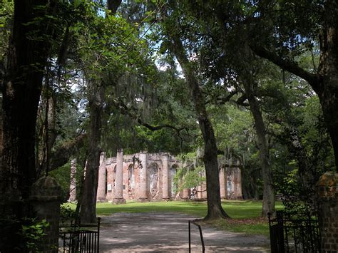 Beaufort County Sc Records File Sheldon Church Ruins Beaufort County Sc Jpg Wikimedia Commons
