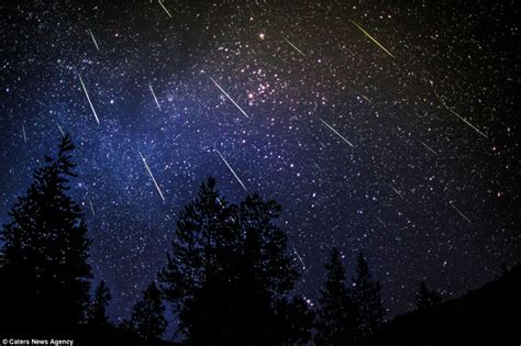 Where To The Meteor Shower by Annual Perseid Meteor Showers On Island Island