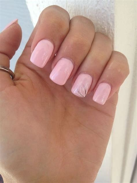 Light Pink Nails by Light Pink Nails Hair And Stuff