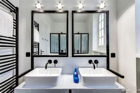 Délicieux Petit Meuble Salle De Bain Avec Vasque #3: paire-de-miroirs-facon-verriere-d-atelier_5858297.jpg