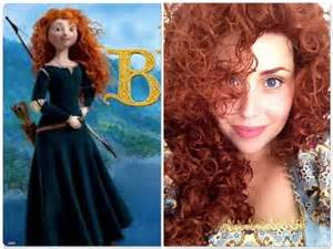 tutorial disney princess merida brave ribelle