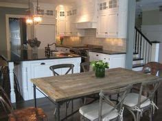 restoration hardware kitchen table eat in kitchens on flat irons dining tables