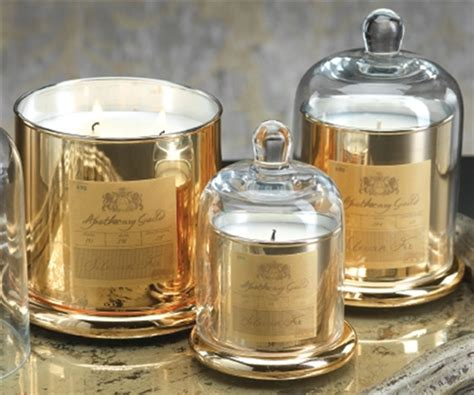 Wall Decorations For Dining Room zodax apothecary guild scented candle jar with glass dome