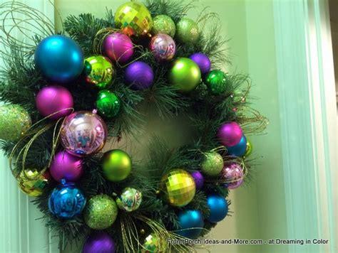 old fashioned wreath ideas festive wreath ideas for
