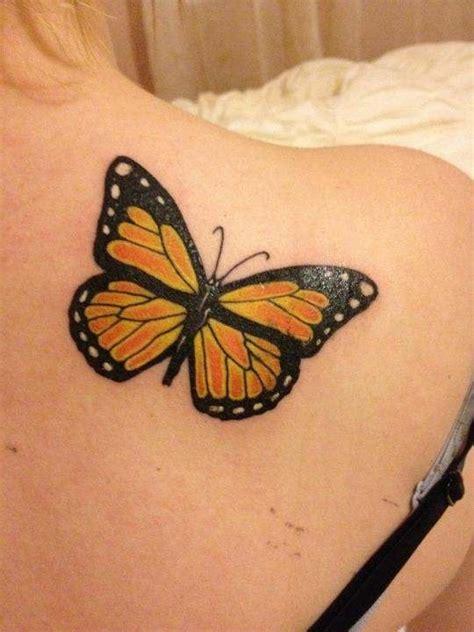 butterfly tattoo above knee best 25 monarch tattoo ideas on pinterest monarch