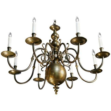Baroque Chandelier Vintage Baroque Bronze Eight Arm Chandelier For Sale At 1stdibs