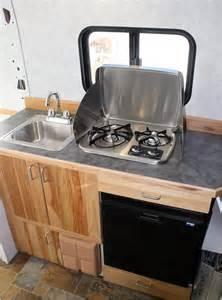 Teardrop Camper Floor Plans Our Promaster Camper Van Conversion Galley Build A
