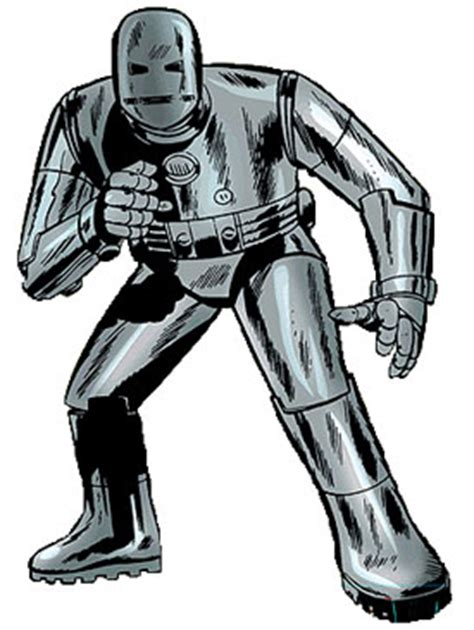 Original Armour 1 to keep tony stark s beating after the shrapnel reached his in tales of suspense 39