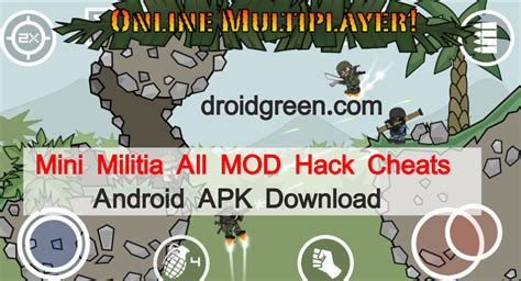 doodle army mini militia cheats doodle army 2 mini militia mod hack cheats android apk