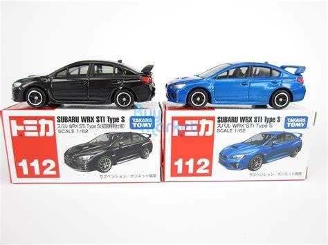 Tomica 112 Subaru Wrx Sti takara tomy tomica 112 subaru wrx sti type s 2x set scale 1 62 diecast car ebay