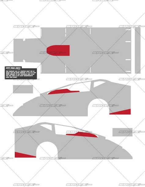 big template big block modified template school of racing graphics