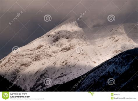 rugged snow snow rugged peaks royalty free stock photo image 9180725