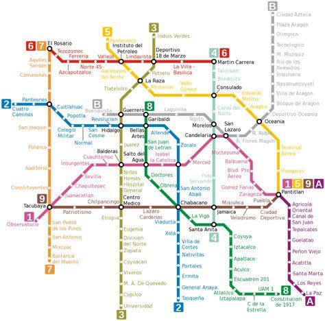 city underground map world nycsubway org mexico city mexico