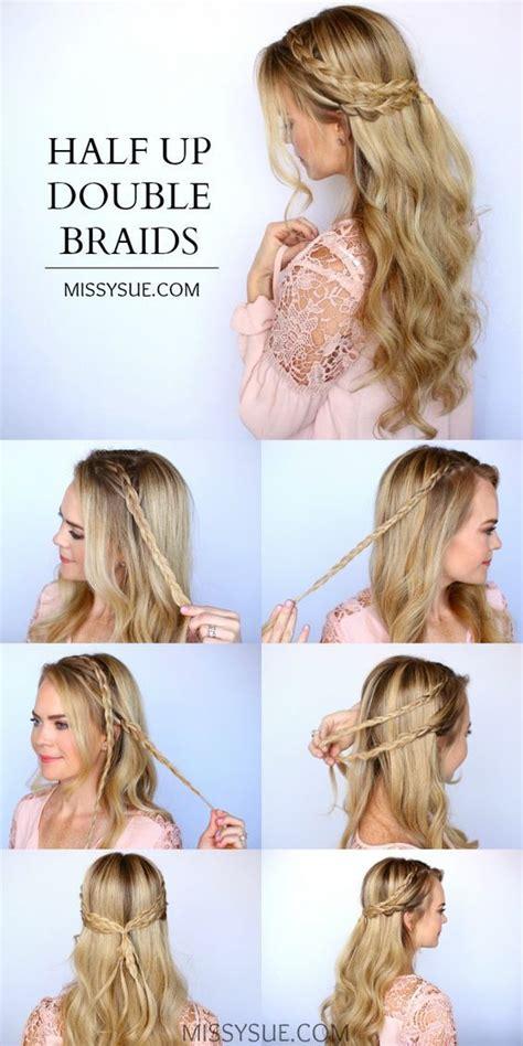 emma watson hairdos easy step by step best 20 half ponytail ideas on pinterest