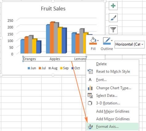 format x axis excel excel charts add title customize chart axis legend and